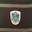Harry Potter Slytherin Badge by NuclearJawa