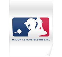 Major League Blernsball (White) Poster