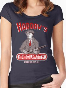 Harrow's Security Women's Fitted Scoop T-Shirt