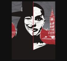 v for vendetta by Zoe Toseland