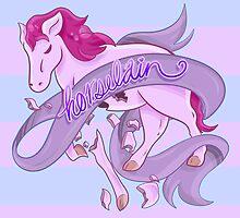Horselain by Olivia Dierker