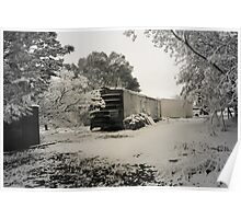 Boxcar Snow Poster