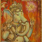 Ganesha by Yuliya Glavnaya