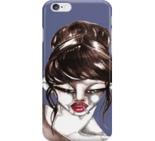 woman&cigarette 1 iPhone Case/Skin