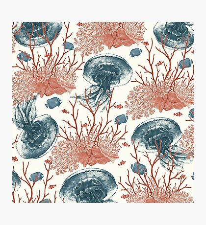 Aquatic Pattern Photographic Print