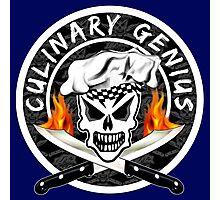 Skull Chef 2: Culinary Genius 2 Photographic Print