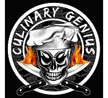 Skull Chef 4: Culinary Genius 2 Photographic Print