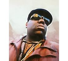 Biggie Smalls Notorious Rapp Autumn Dream Wrap Photographic Print