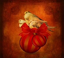 Three White Doves by swaby