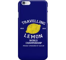 2012 Travelling Lemon World Championship iPhone Case/Skin