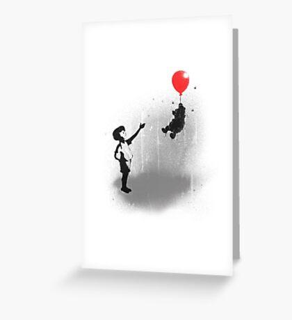 Little Black Rain Cloud Greeting Card