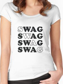 SWAG Women's Fitted Scoop T-Shirt
