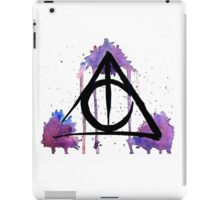 The Deathly Hallows iPad Case/Skin