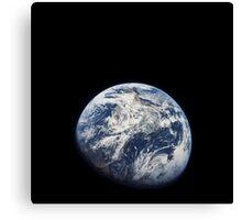 Earth From Apollo 8 Canvas Print