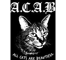 ACAB.  Photographic Print