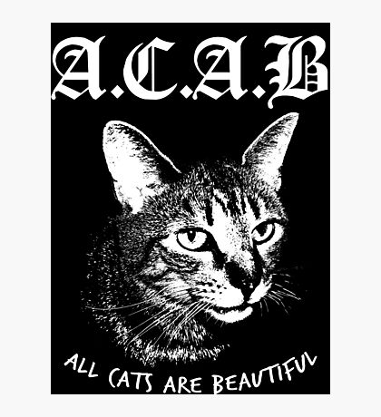 ACAB.  Photographic Print