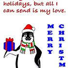 Penguin Holiday Card by rocamiadesign