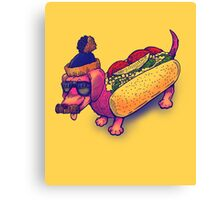 The Chicago Dog Canvas Print