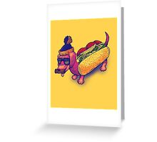 The Chicago Dog Greeting Card