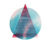 Where U & I Belong by Jorge Lopez