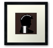 Welcome Aboard (David Tennant) Framed Print