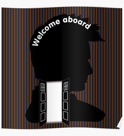 Welcome Aboard (David Tennant) Poster