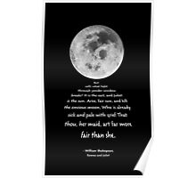 Moon Bridge Shakespeare Poster