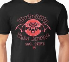 Rockabilly Tiger Lounge Unisex T-Shirt