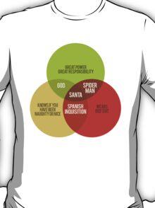 Santa Venn Diagram T-Shirt