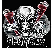"""Plumber Skull 1: """"The Plumber"""" Photographic Print"""