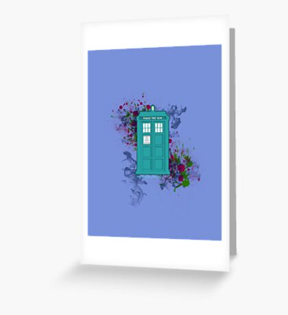 Where Would You Like to Start? - Doctor Who Greeting Card
