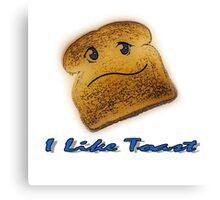 Toasty humor Canvas Print