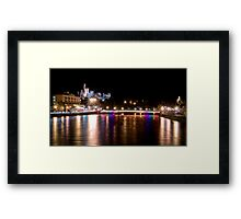 Goodnight Inverness Framed Print