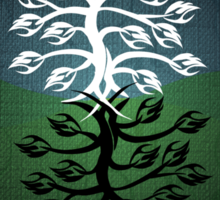 Duality and the Tree of Life Sticker