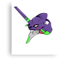 evangelion unit 1 head Canvas Print