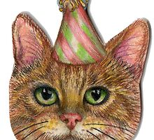 Party Kitten by KestrelAndSea