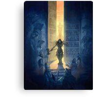 Heroquest Glorantha Core Book Canvas Print