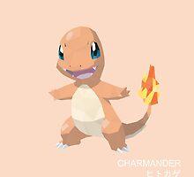 Charmander Low Poly by meowzilla