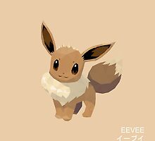 Eevee Low Poly by meowzilla
