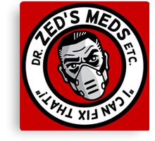 Zed's Meds Canvas Print