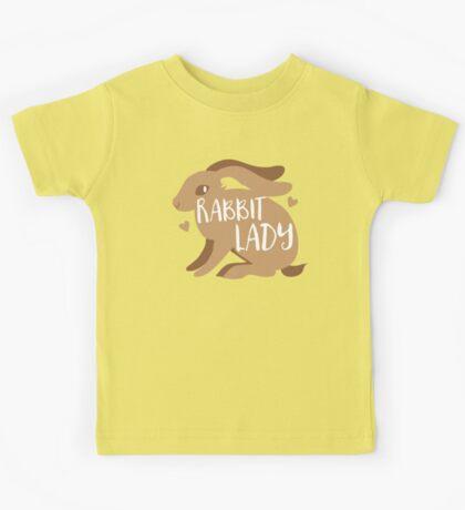 Rabbit Lady Kids Tee