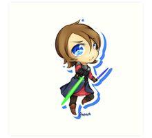 Anakin Skywalker chibi Art Print