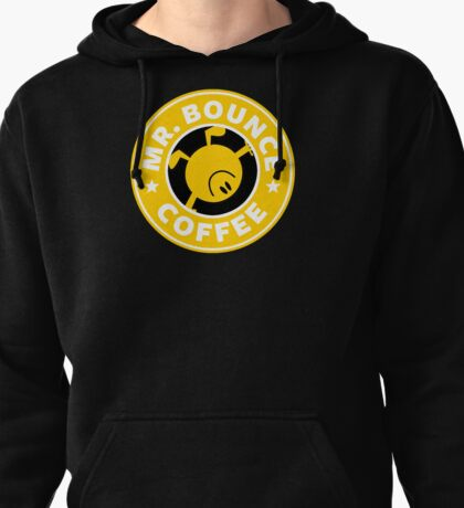 Mr. Bounce Coffee Pullover Hoodie