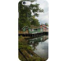 Telegraph Cove, Vancouver Island iPhone Case/Skin