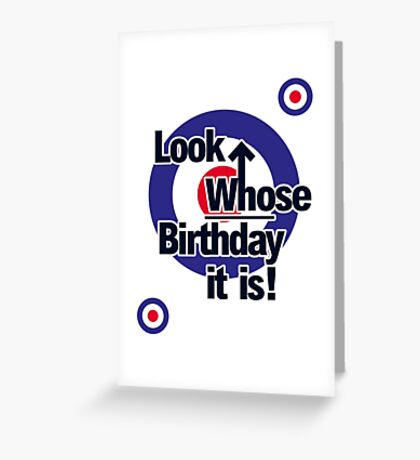 Who Birthday Card (no age) Greeting Card