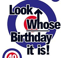 Who Birthday Card (Add any Age - no extra cost!) by mjfouldes