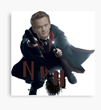Neil Patrick Harris-NPH/HP Metal Print