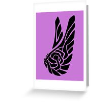 Knotted Flight Greeting Card