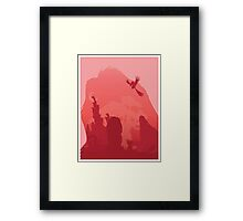 The Circle of Life Tee Framed Print