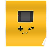Gameboy yellow design Poster